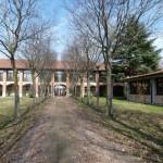 Il giardino della Scuola Secondaria di Burago