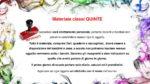 Materiale sito CLASSI QUINTE