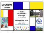 Volantino Burago Openday2020
